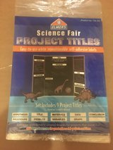 New! Science Fair Project Titles - Self Adhesive Labels in Glendale Heights, Illinois