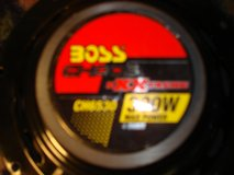 BOSS CHAOS EXTREME 3 WAY COAXIAL CAR SPEAKERS in Naperville, Illinois