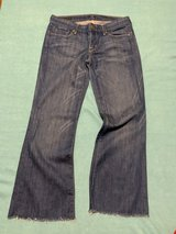 Citizens of Humanity light crop jeans in Okinawa, Japan