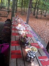 BBQ Place in the Forest for Rent , Mehlingen near Climbing Park Kaiserslautern in Ramstein, Germany