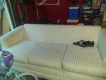 White couch in Naperville, Illinois