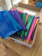 Pack of ten Expanding Files in Lakenheath, UK
