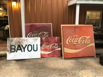 antique Signs in Fort Polk, Louisiana