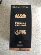 VHS Star Wars Trilogy video tapes in 29 Palms, California