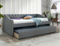 BRAND NEW! CASUAL TWIN DAYBED WITH TRUNDLE in Camp Pendleton, California