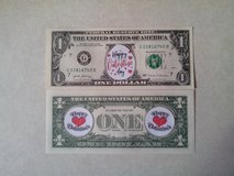 BRAND NEW COLORIZED NOVELTY VALENTINE'S DAY DOLLAR - FIRST DESIGN in Orland Park, Illinois