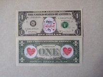 BRAND NEW COLORIZED NOVELTY VALENTINE'S DAY DOLLAR - SECOND DESIGN in Tinley Park, Illinois