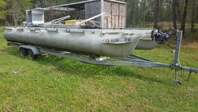 24 foot pontoon Project boat in The Woodlands, Texas