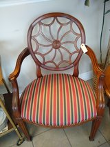 Red/Green/Tan Side Chair in Naperville, Illinois
