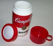 Vintage 1998 Collectable Campbell Soup Can-Tainer Insulated Hot Food Thermos in Yorkville, Illinois