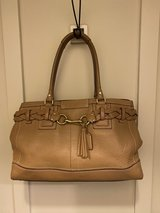 coach leather bag in Naperville, Illinois