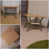 small couch table / coffee table with shelf / end table in Ramstein, Germany