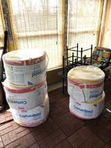 5 rolls of certainteed R30 unfaced insulation in St. Charles, Illinois