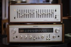Sony STR-6065 vintage receiver in St. Charles, Illinois