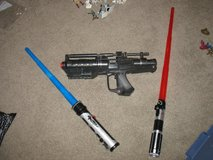 Star Wars Light Sabers and Gun Lot in Naperville, Illinois