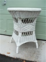Tall Natural Woven Wicker Table in Fort Sam Houston, Texas