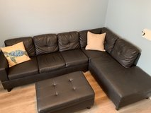 Matching Sectional, Futon, and Dining Set in Indianapolis, Indiana