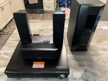 Panasonic 5 CD Changer & TV Surround Sound in Camp Lejeune, North Carolina
