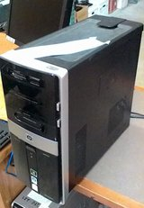 hp Pavilion m9200t tower, Core 2 Duo, 8 GB RAM, 250 HDD, Win10 64-bit in Fort Lewis, Washington