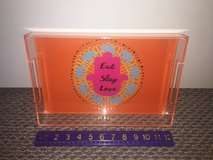 New!  Acrylic Tray with Colorful Graphic in Naperville, Illinois