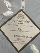 (Knights Bridge Linens) KING sheet set in Fort Riley, Kansas