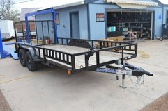 16' Utility Trailer with side load in Alamogordo, New Mexico