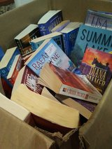 Box of Books - 25 cents each. Shop outside door in St. Charles, Illinois