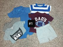 #1: 6 months Baby Boy Clothes Bundle in Travis AFB, California