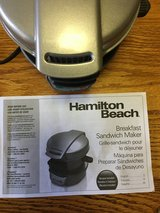 Hamilton Beach Breakfast Sandwich Maker in Alamogordo, New Mexico