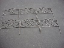 "SIX 18 "" WIDE  SECTIONS OF DECORATIVE FENCE in Chicago, Illinois"