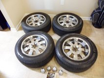 Set of 4 Wheels and Tires in Fort Bragg, North Carolina