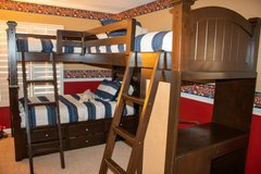 3 Person Bunk Bed and Desk in Huntington Beach, California