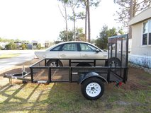 2018 5x8 Utility Trailer Excellent Condition in Cherry Point, North Carolina