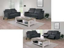 United Furniture - Izegem Recliner Set in Anthracite or Nubuck incl. del. - with Recliner $2342... in Ramstein, Germany