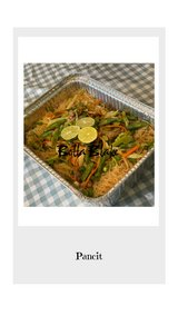 Pancit half pan in Beaufort, South Carolina