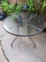 Patio table in Houston, Texas