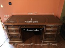 Sturdy Desk for Home Offices or CEOs Office in Joliet, Illinois