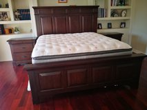 "Ortho Eastern King Mattress 15"" w/ box spring in Huntington Beach, California"