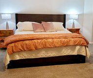 King size bedframe in Conroe, Texas