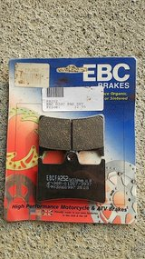 EBC brake pads, motorcycle in Okinawa, Japan