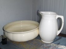 Antique. Bowl and jug in Stuttgart, GE