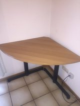 """""""L"""" shaped desk and corner table set in Ramstein, Germany"""