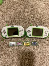 2 Leapster Explorer with 4 Games in Fort Leonard Wood, Missouri