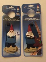 Travelocity Roaming Gnome Luggage Tags ~NEW in Kingwood, Texas
