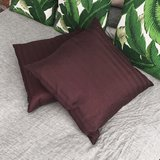 Dark Purple Throw Pillows (2) in Westmont, Illinois