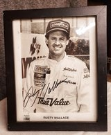 Autographed Photo Rusty Wallace in Alamogordo, New Mexico
