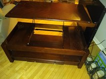 lift top coffee table in Yorkville, Illinois