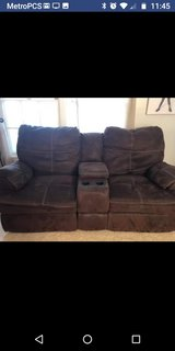 dual recliner couch in Yorkville, Illinois