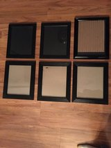 6 Black Frames in Plainfield, Illinois