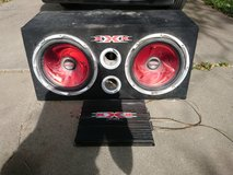 Car speakers and amp in The Woodlands, Texas